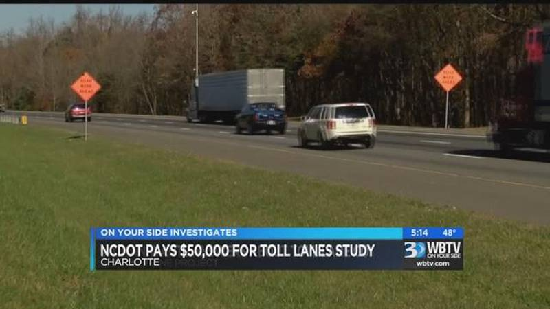 NCDOT pays $50,000 for toll lanes study