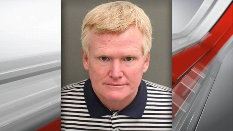 Alex Murdaugh's mugshot from the Orange County Corrections.
