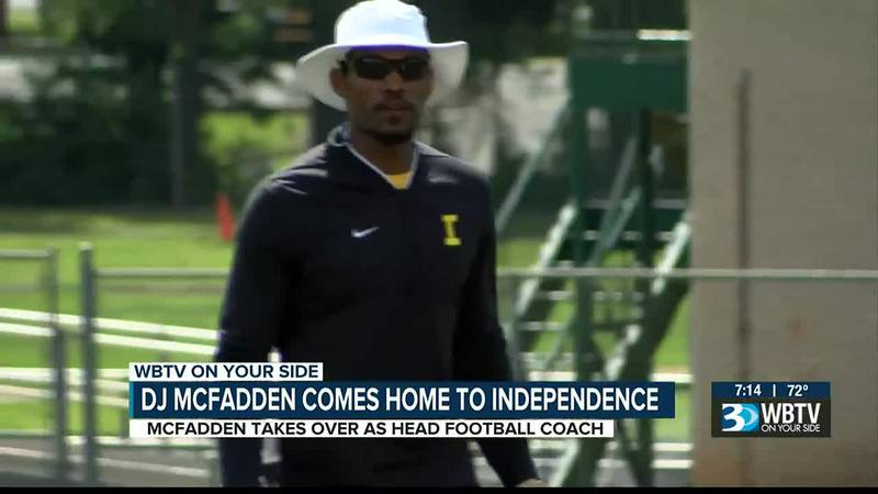 There's no place like home for new Independence head football coach DJ McFadden.