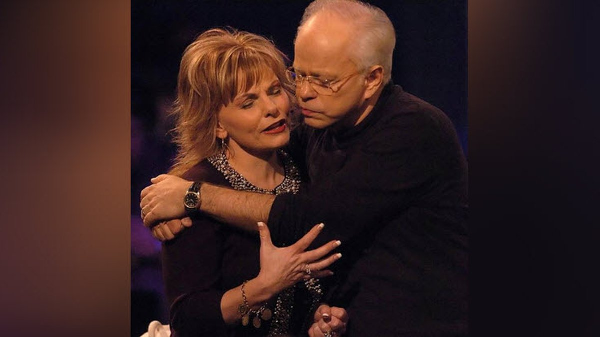 Jim Bakker and wife Lori's current show is based in the tourist hotpot of Branson, Mo.