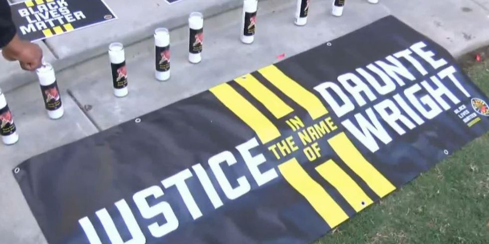 Family leads rally in Charlotte for Daunte Wright, 20-year-old killed by police officer in...