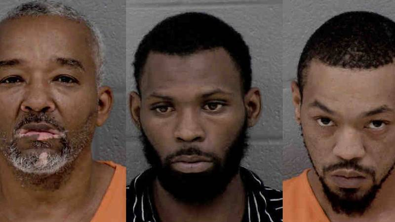 Three arrested after armed robbery at Bank of America, pursuit in south Charlotte