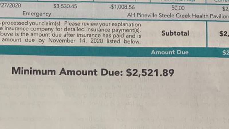 Woman says she was not informed of cost before Charlotte-area hospital treatment