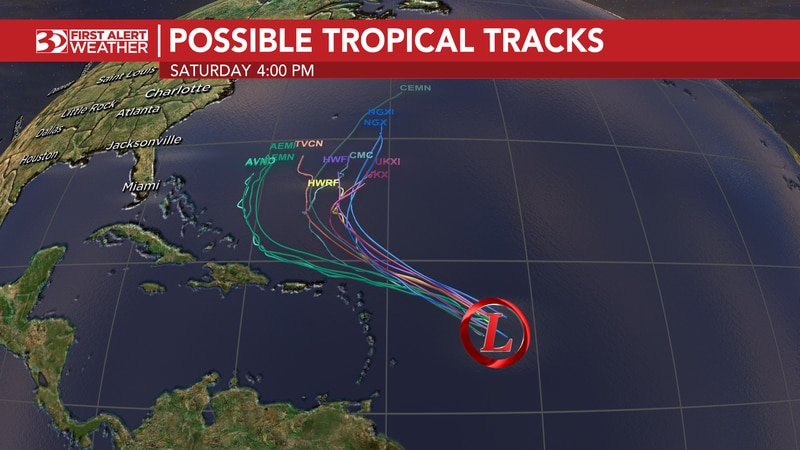 Odette becomes post-tropical, yet lingers in the Atlantic