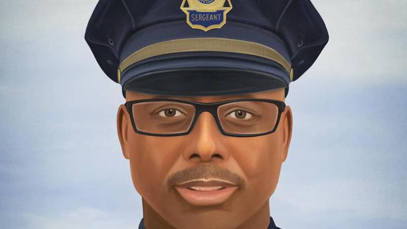 Prints of Sgt. Terrence Carraway's painting will be mailed to the FPD in the coming days with a...