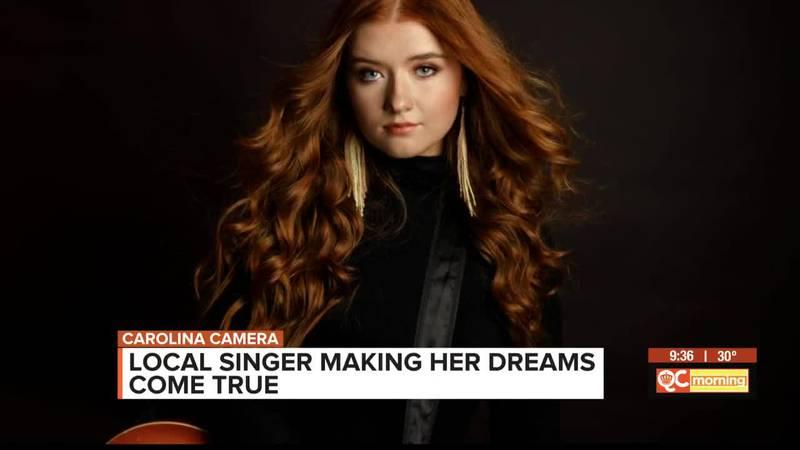 Carolina Camera: Local singer makes her dreams come true