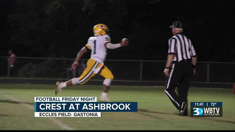 Crest wins their 2nd game in a row as they beat Ashbrook 44-27.