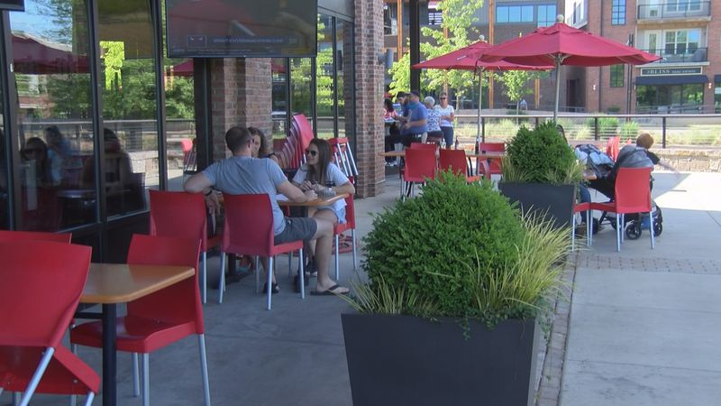 Restaurant owners are happy to have you back on their patios in South Carolina.