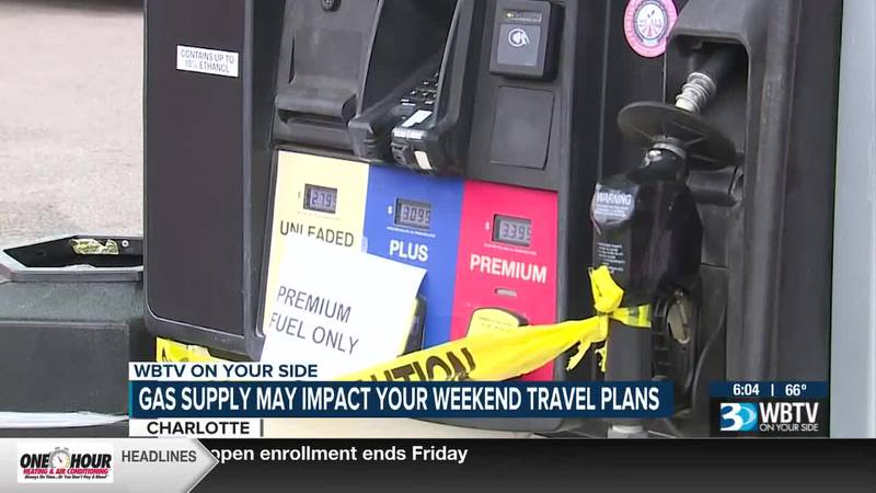 Gas supply may impact your weekend travel