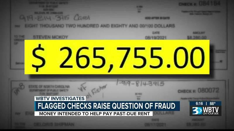 Flagged checks raise fraud concerns for N.C. housing program