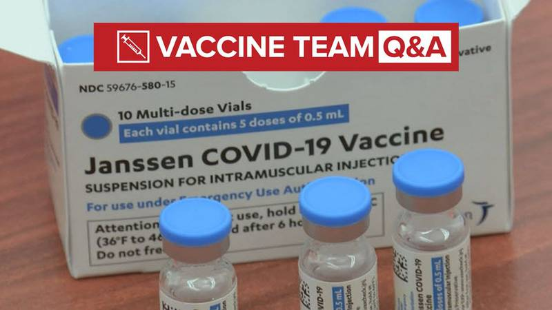 VACCINE TEAM: Should you be worried about blood clots if you've had the J&J vaccine?