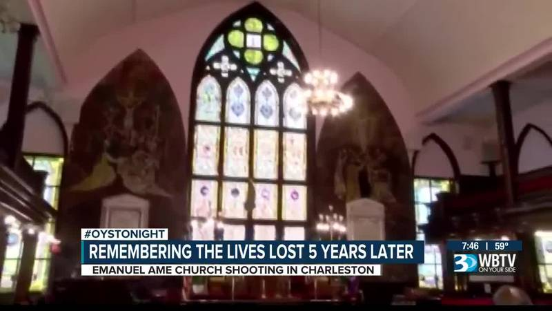 Remembering the lives lost five years after the shooting at Emanuel AME