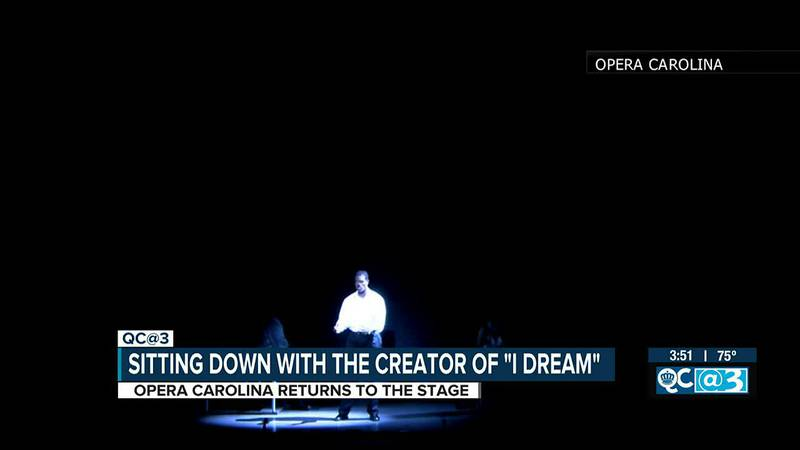 Sitting down with the creator of 'I Dream' as Opera Carolina returns
