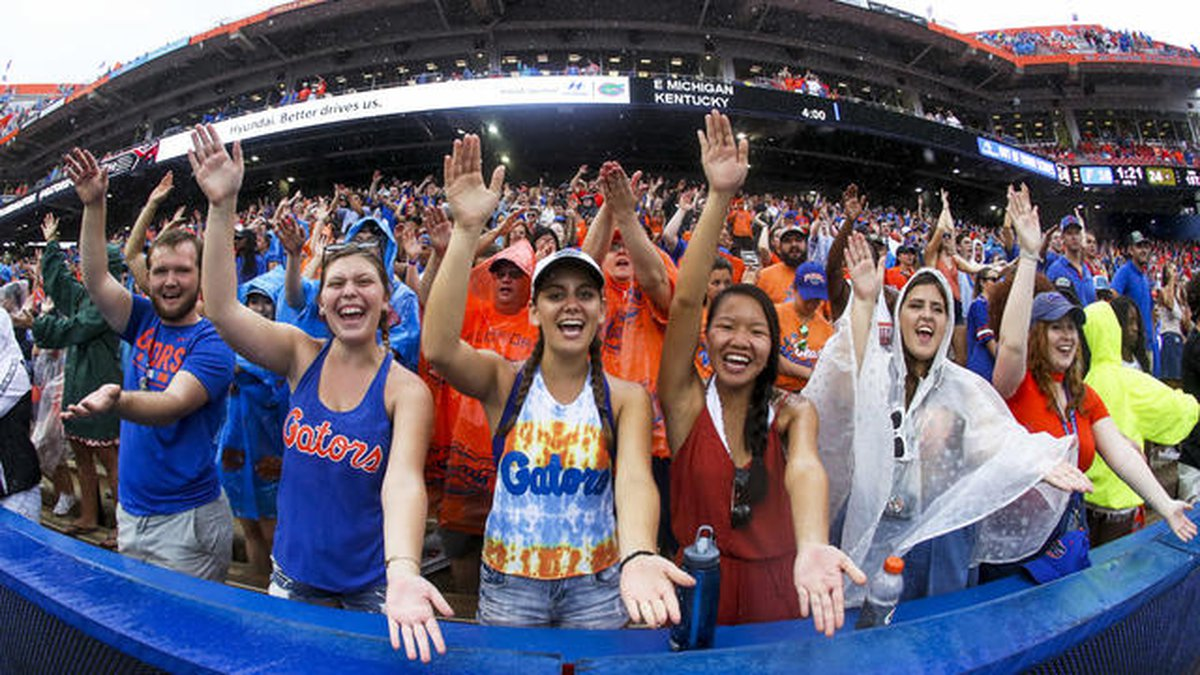 """University of Florida drops """"Gator Bait"""" cheer due to term's """"horrific historic racist imagery"""""""