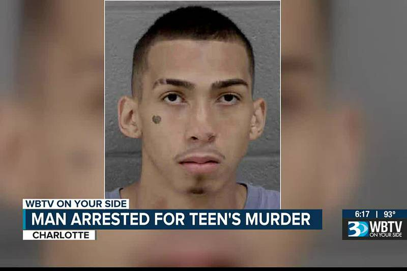 Man arrested for teen's murder in Charlotte