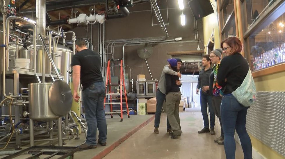 """Brewers from across NoDa stopped by NoDa Brewing Company's """"OG"""" location Friday to collaborate..."""
