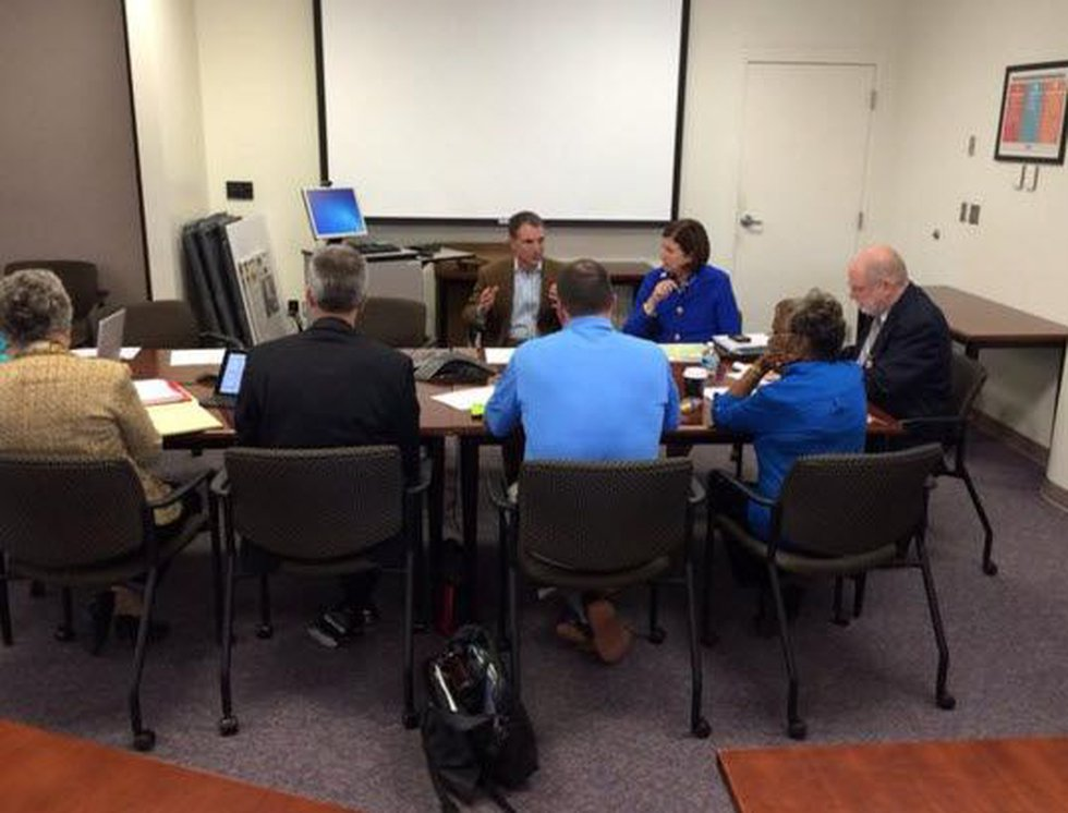 The CMS policy committee met Thursday at the Government Center to discuss how the plan can be...