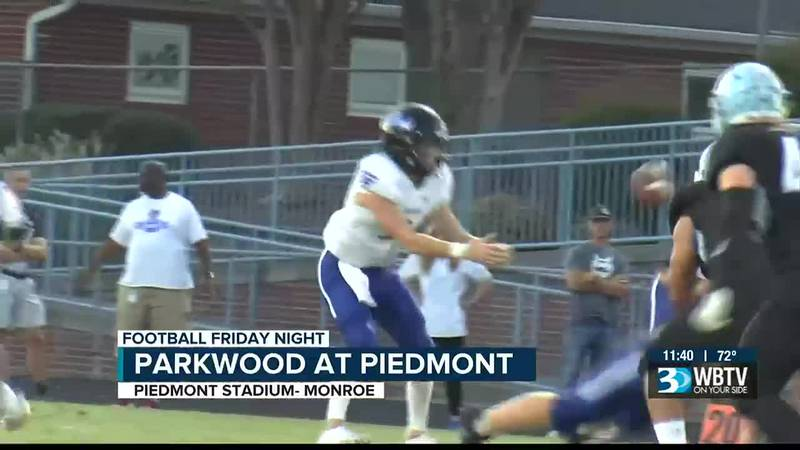 Parkwood evens their record at 1-0 with a thrilling win over Piedmont 22-21.