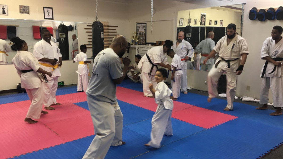 Karate instructor Randall Ephram intervened when a woman being chased by an alleged attempted...