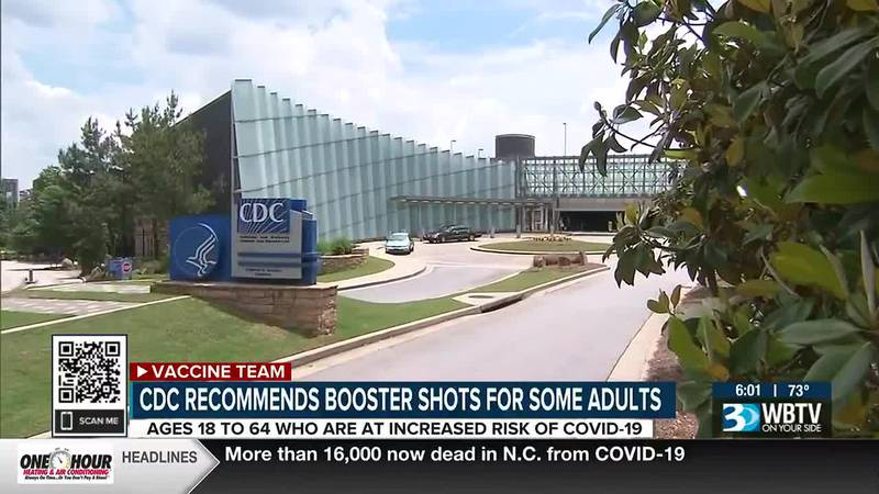 Pfizer COVID-19 booster shots available for high-risk groups in North Carolina
