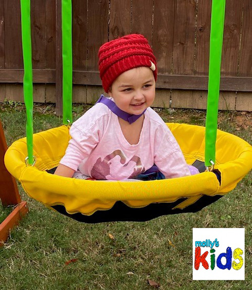 Riley Faith is a 4-year-old in Simpsonville, S.C.