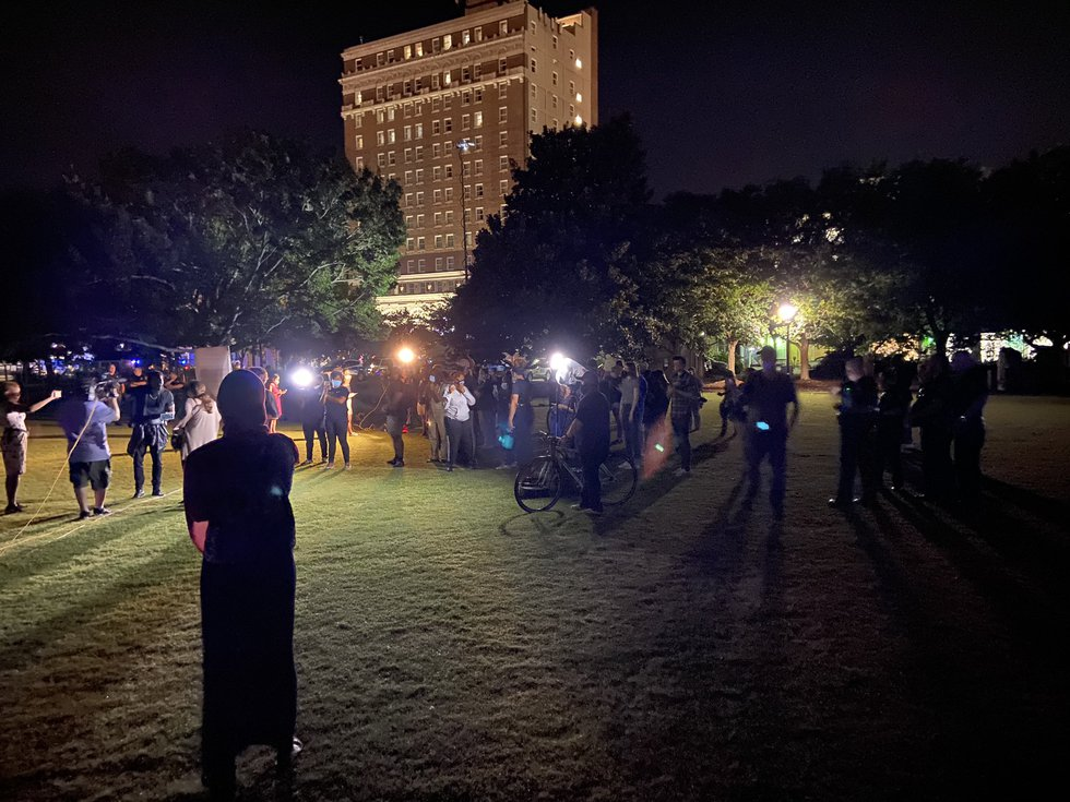 The Charleston Police Department announced at 11:34 p.m. that Calhoun Street between Meeting...