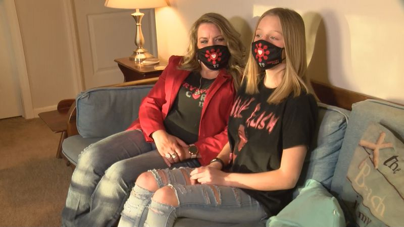 12-year-old Wednesday Lynch says she is still experiencing COVID-19 symptoms several months...