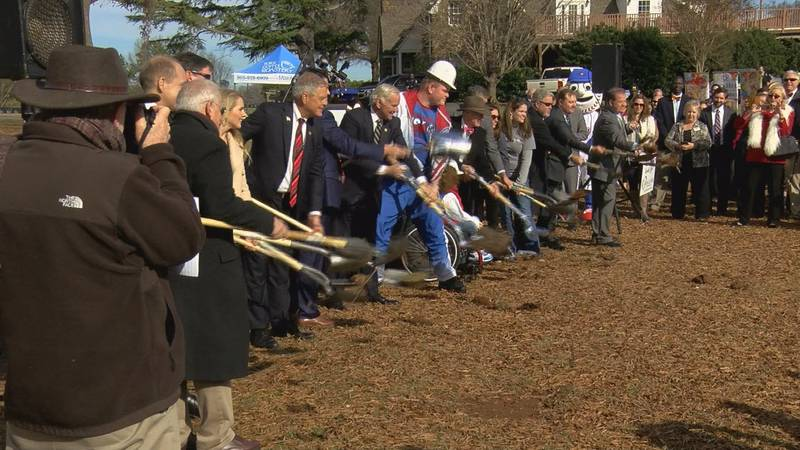 The official groundbreaking was held for the all-inclusive public facility which city leaders...