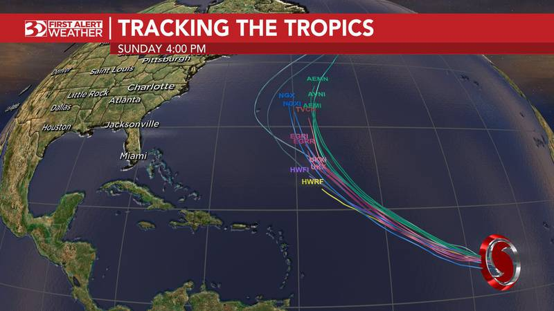Hurricane Larry has formed about 2,300 miles southeast of Bermuda.