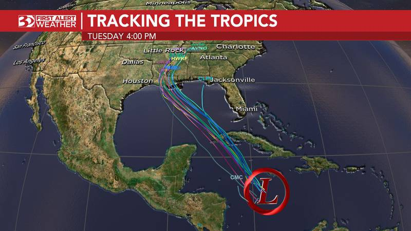A tropics threat could bring severe weather to the southeast.