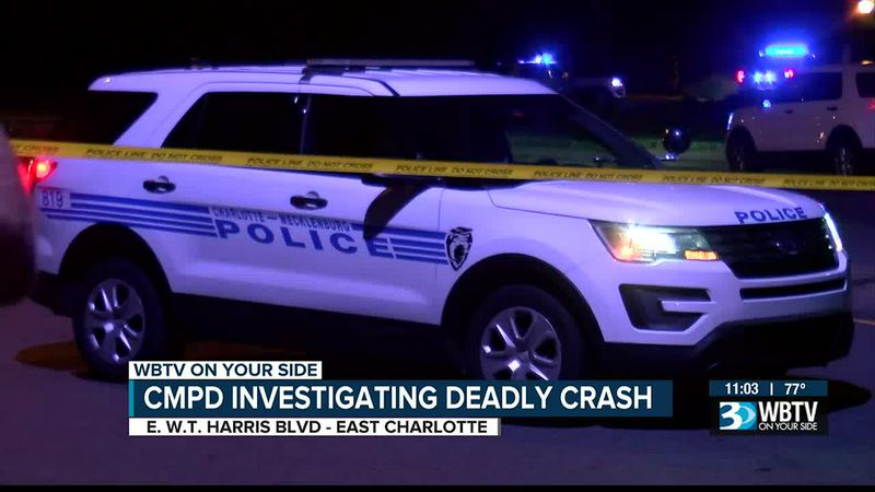 Fatal accident closes busy Charlotte intersection