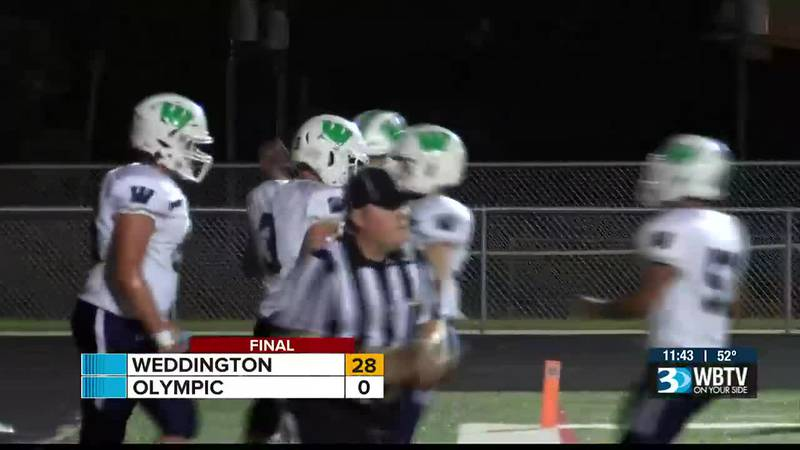 Big statement win by Weddington as they shutout Olympic 28-0 to give the Trojans their first...