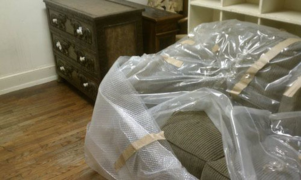 Furniture that was found at Mayfield's that police say was in the stolen trailers. (Source:...