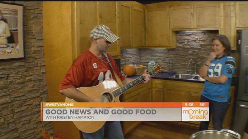 Good News and Good Food: Brett Greer