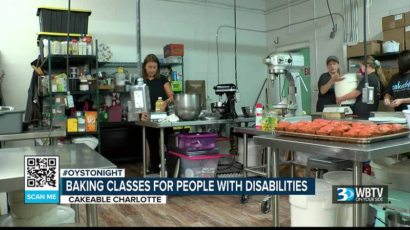 Cakeable Charlotte works to teach skills to people with disabilities