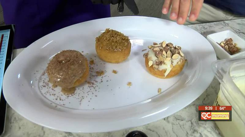 Picking the fall flavors at Reigning Doughnuts