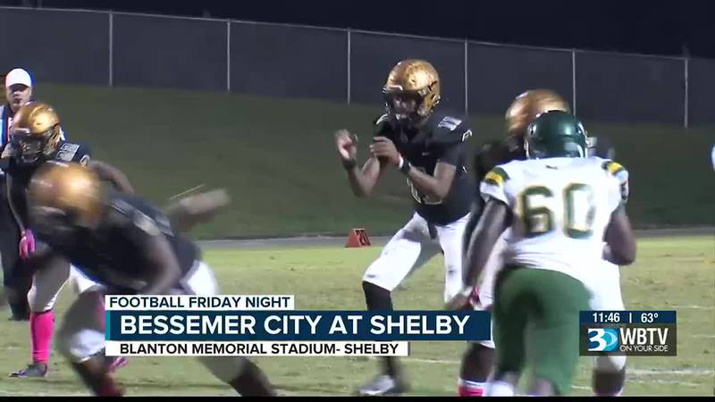Big shutout win for Shelby as they beat Bessemer City 63-0.