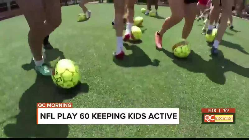 NFL Play 60 keeping kids active
