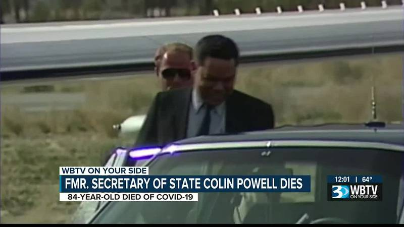 Former Secretary of State Colin Powell dies