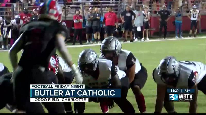 Butler now has sole possession of first place in the Southwestern 4A after a win over Catholic.