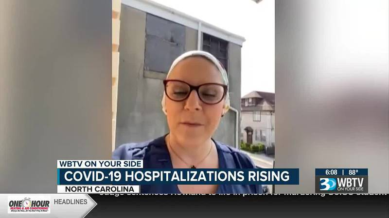 'We have a right to look after each other': NC travel nurse details impact of Delta variant...