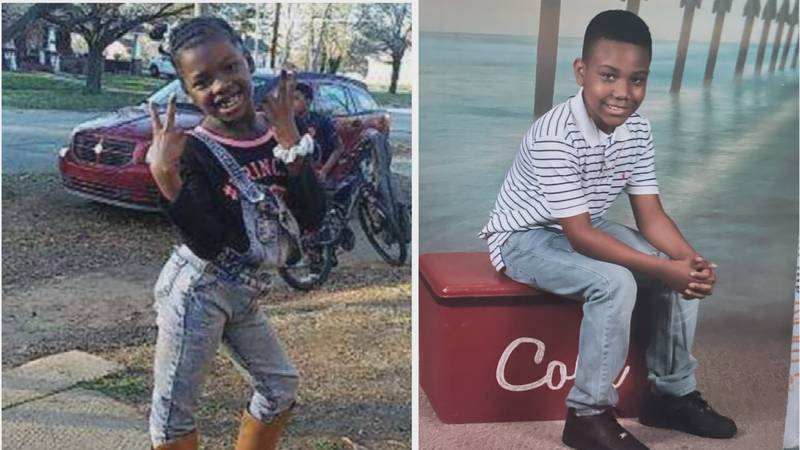 Tariq Lowery, 9, and Ah'Miyahh Howell, 8, were both shot while playing outside a Statesville...