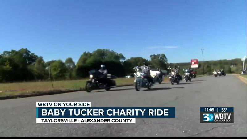 Motorcycle ride supports family of young Alexander Co. child seriously injured in car wreck