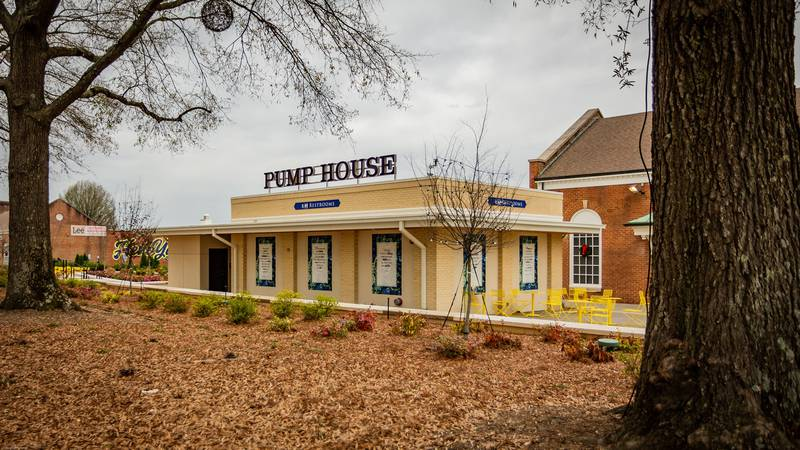 The Pump House is located on West Avenue in downtown Kannapolis.